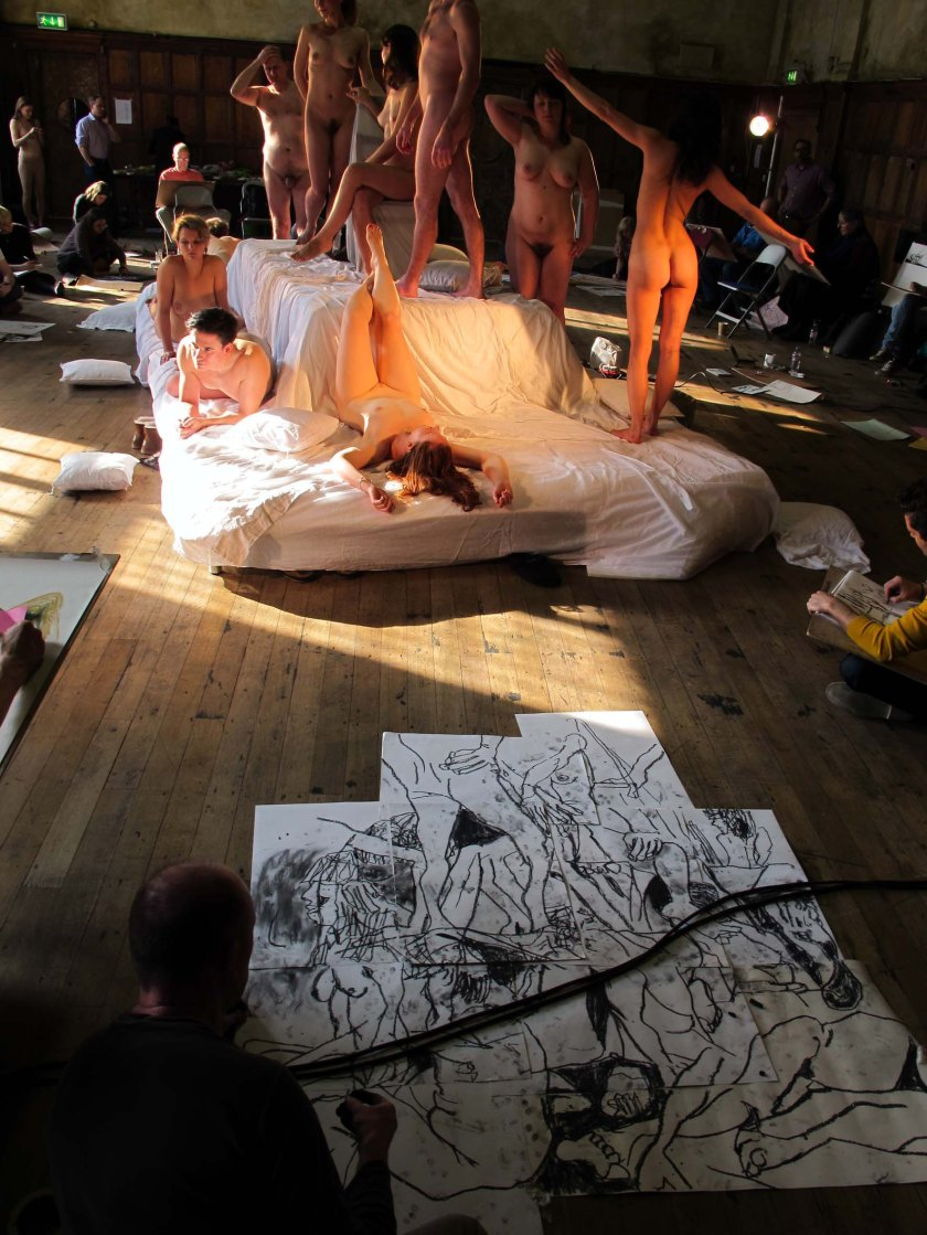 at the Drawing Theatre with Spirited Bodies, February 2012, Battersea Arts Centre