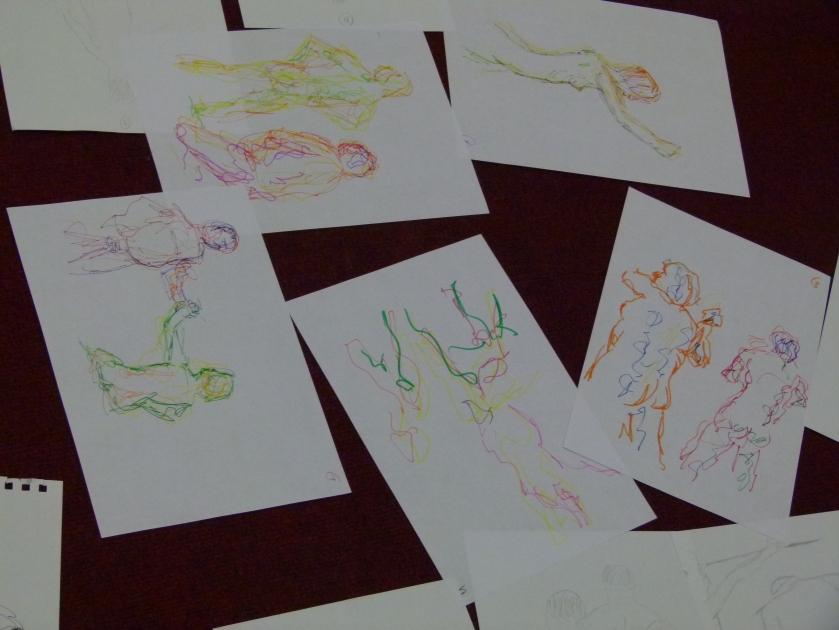 Francis' sketches