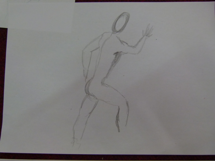 the penultimate pose saw several of the guys creating this pose simultaneously, inspired by a Greek vase. With just a few minutes, it was very hard to capture, but looked impressive
