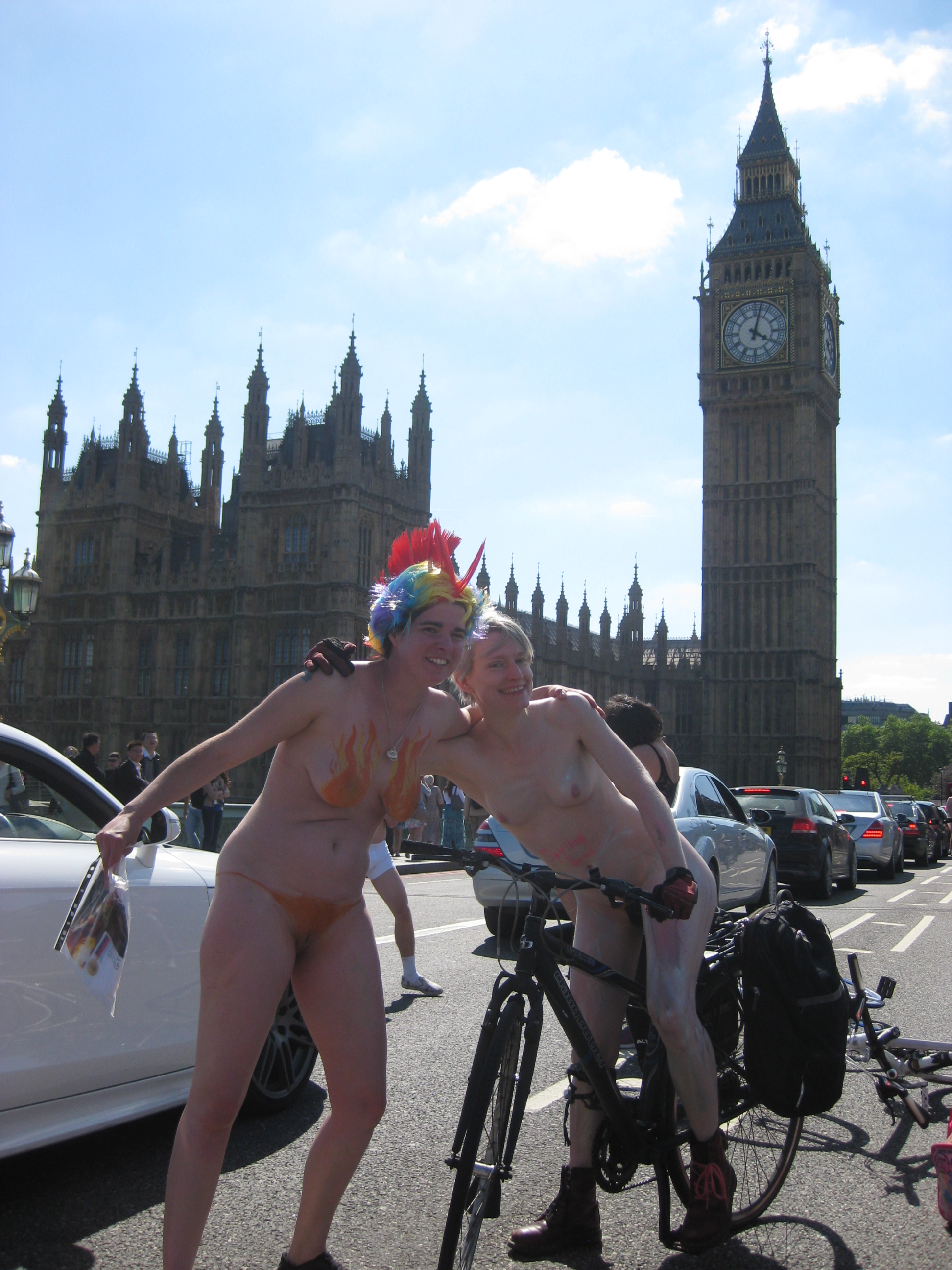 with Natasha, who managed to raise money whilst riding (and being photographed) for Help for Heroes