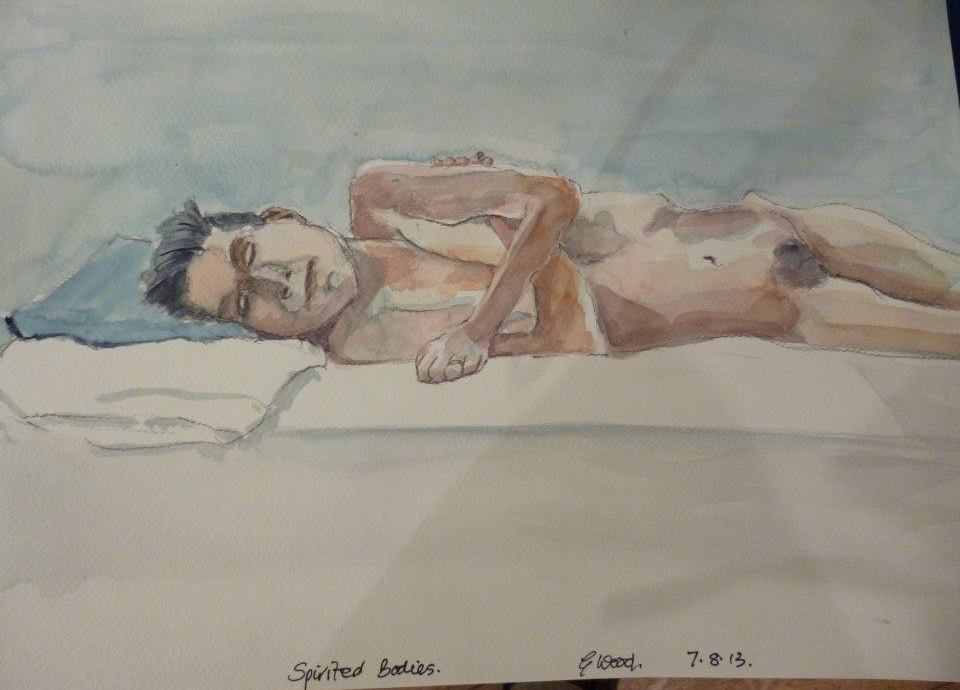 water colour by Graham Wood